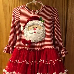 Rare Editions Toddler size 3T red/white outfit